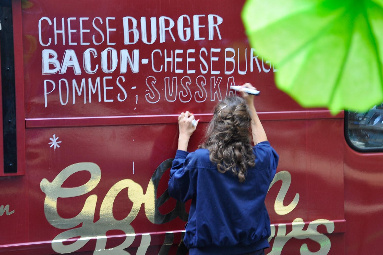 Burgertruck Deko bei der 5-jährigen Preuss und Preuss Agenturjubiläum