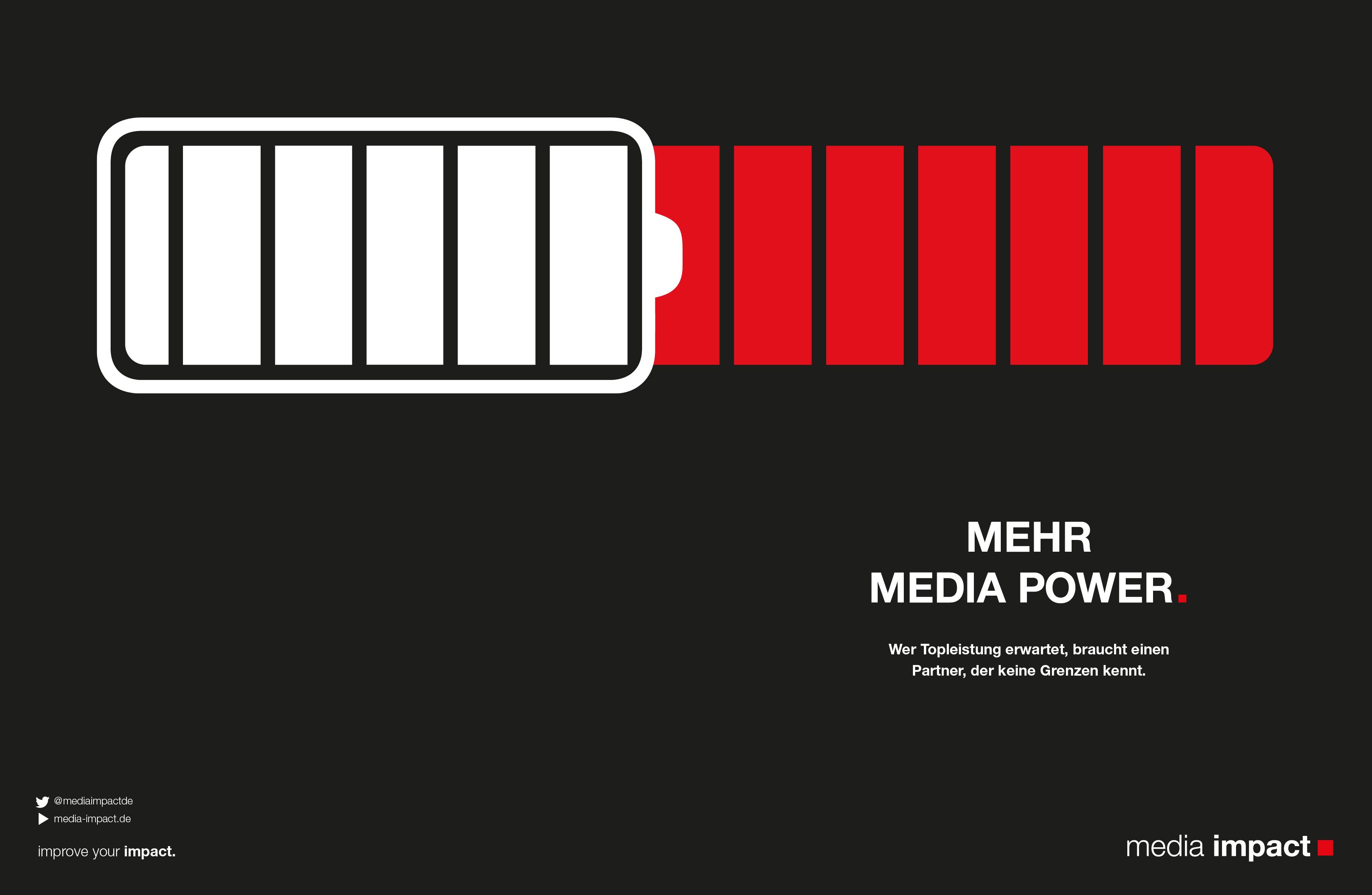 Media Impact Mehr Power Motiv Batterie