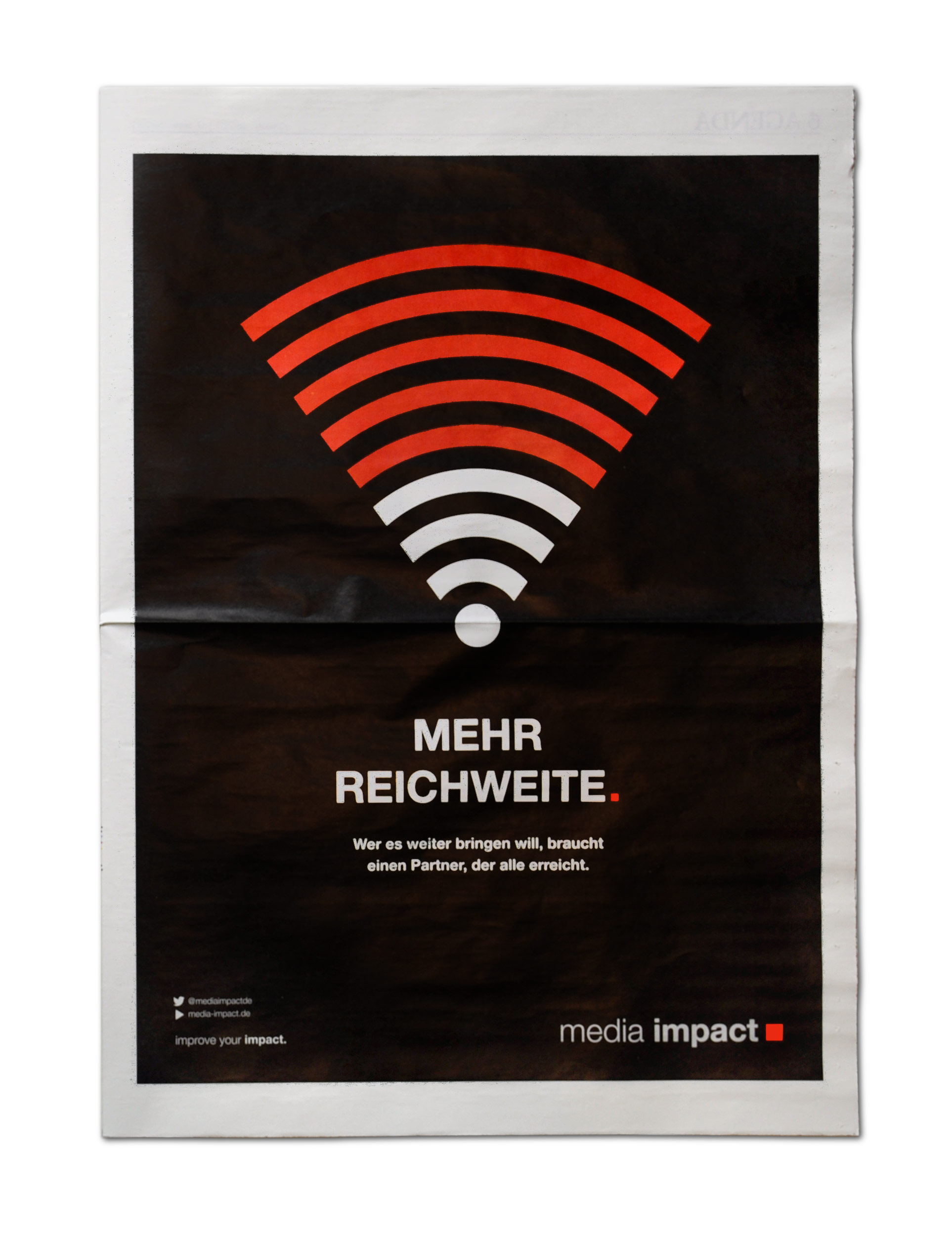 Mehr Reichweite - Motiv WLAN - Media Impact