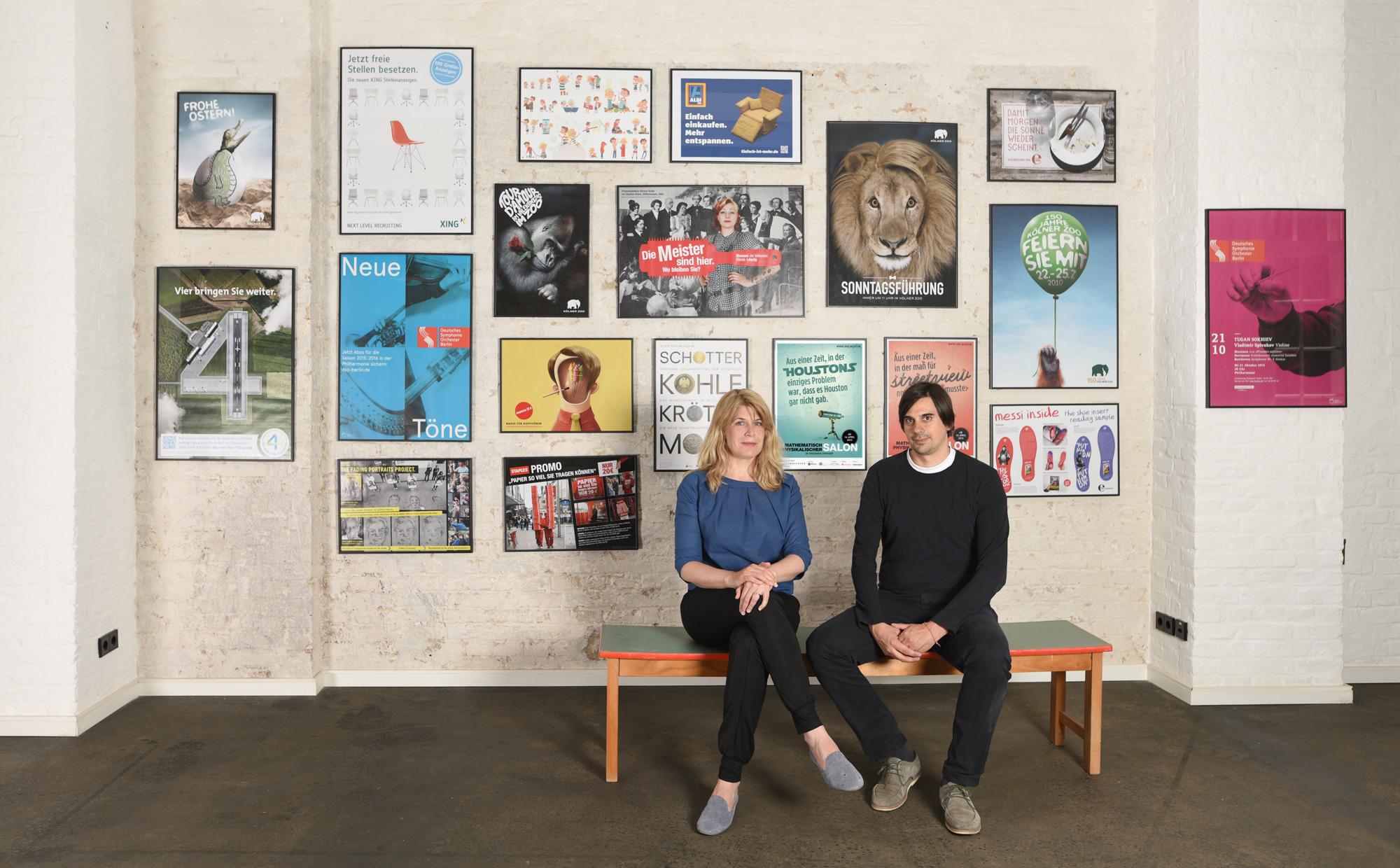 Geschäftsführer Michael und Nina Preuss