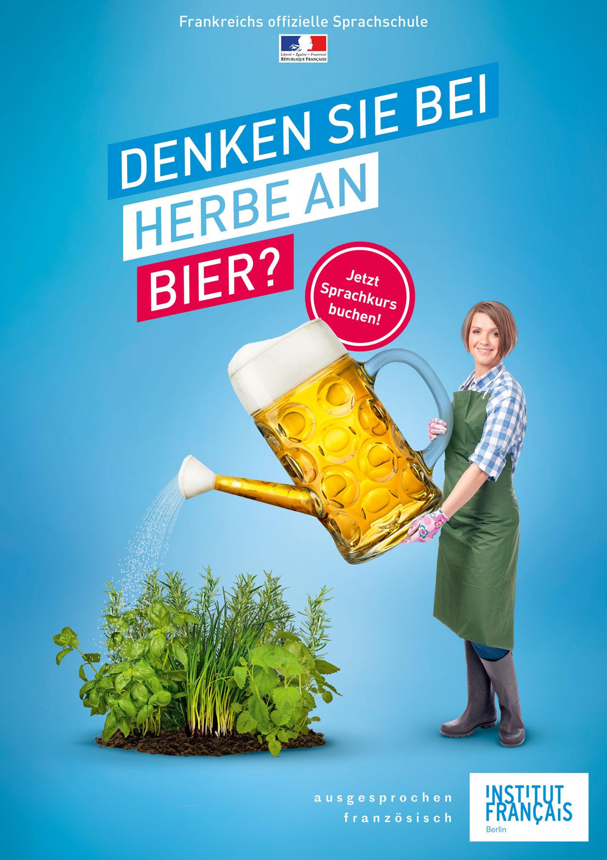 Denken Sie bei Herbe an Bier?