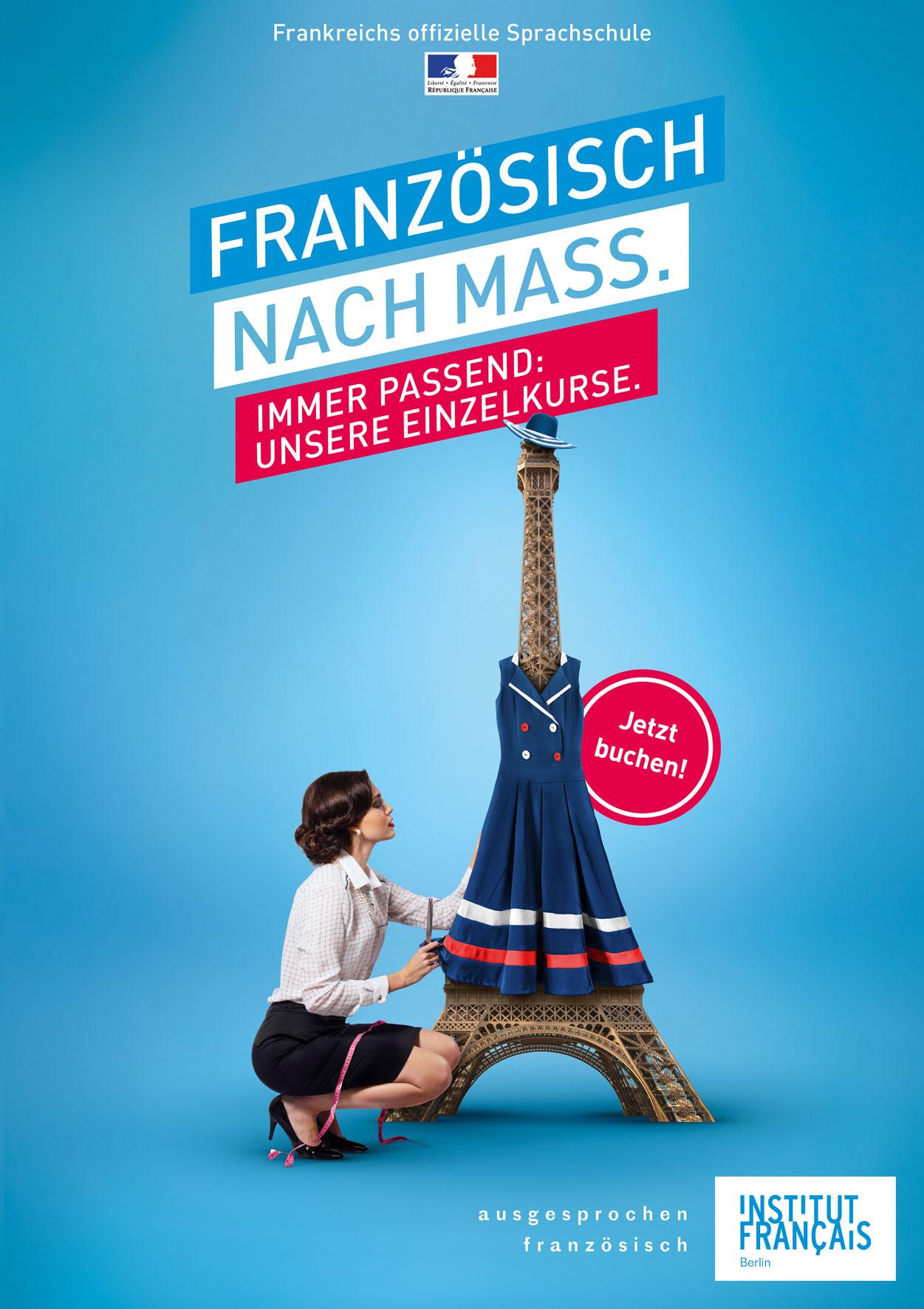Französisch nach Mass.