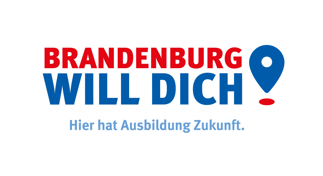 Brandenburg will dich - Hier hat Ausbildung Zukunft - Logo