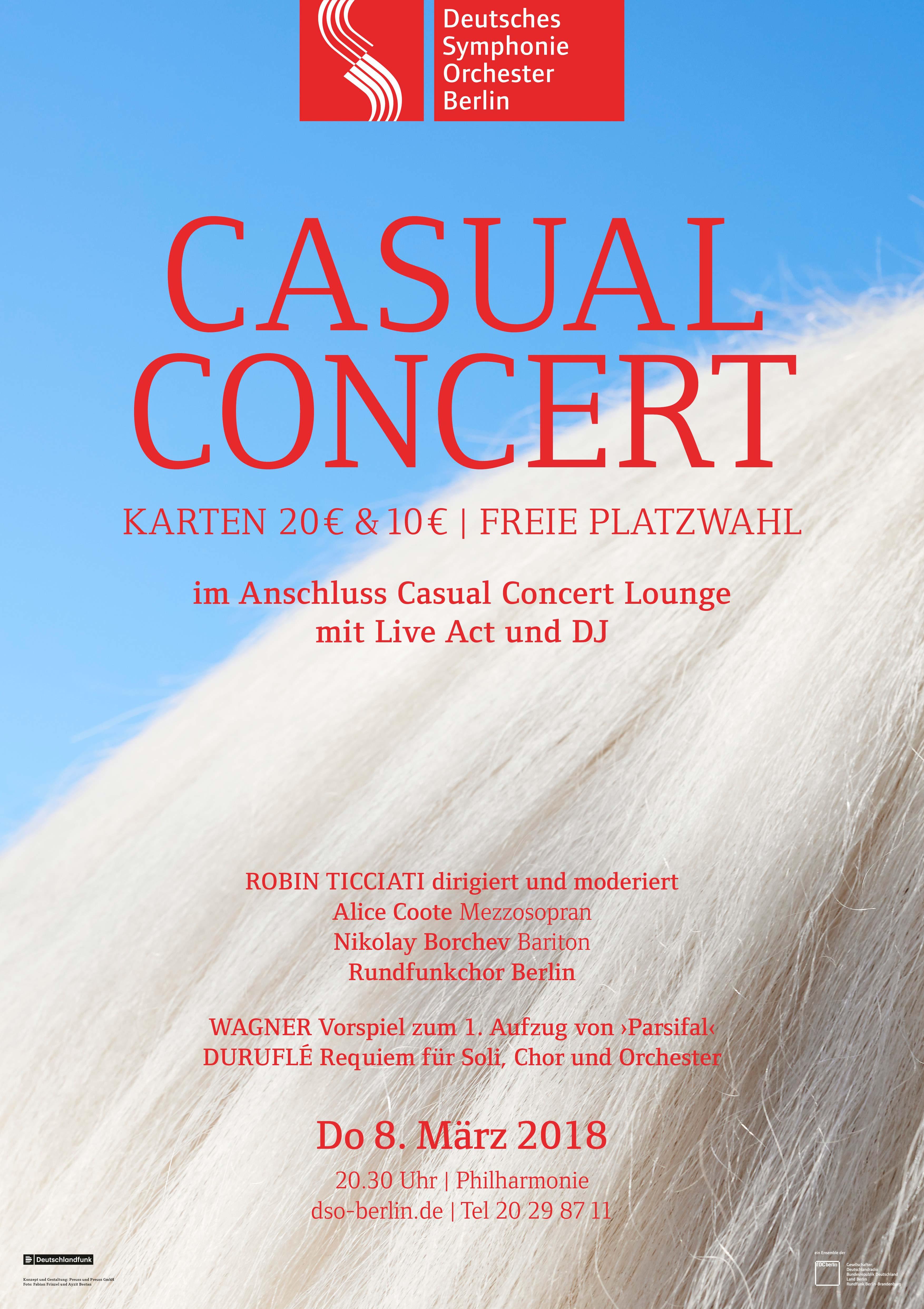 Plakat Casual Concert