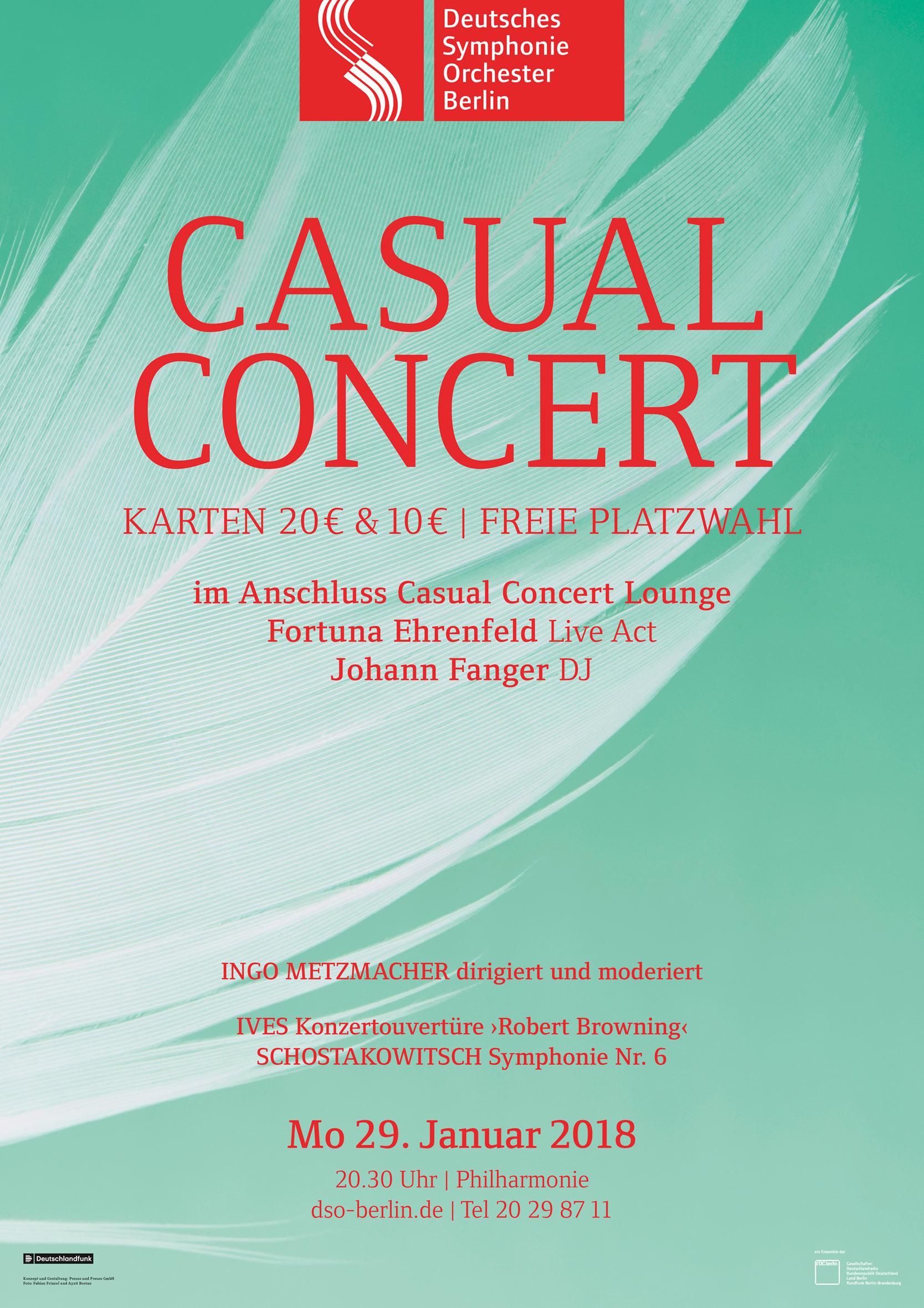 Plakat Casual Concert - Feder