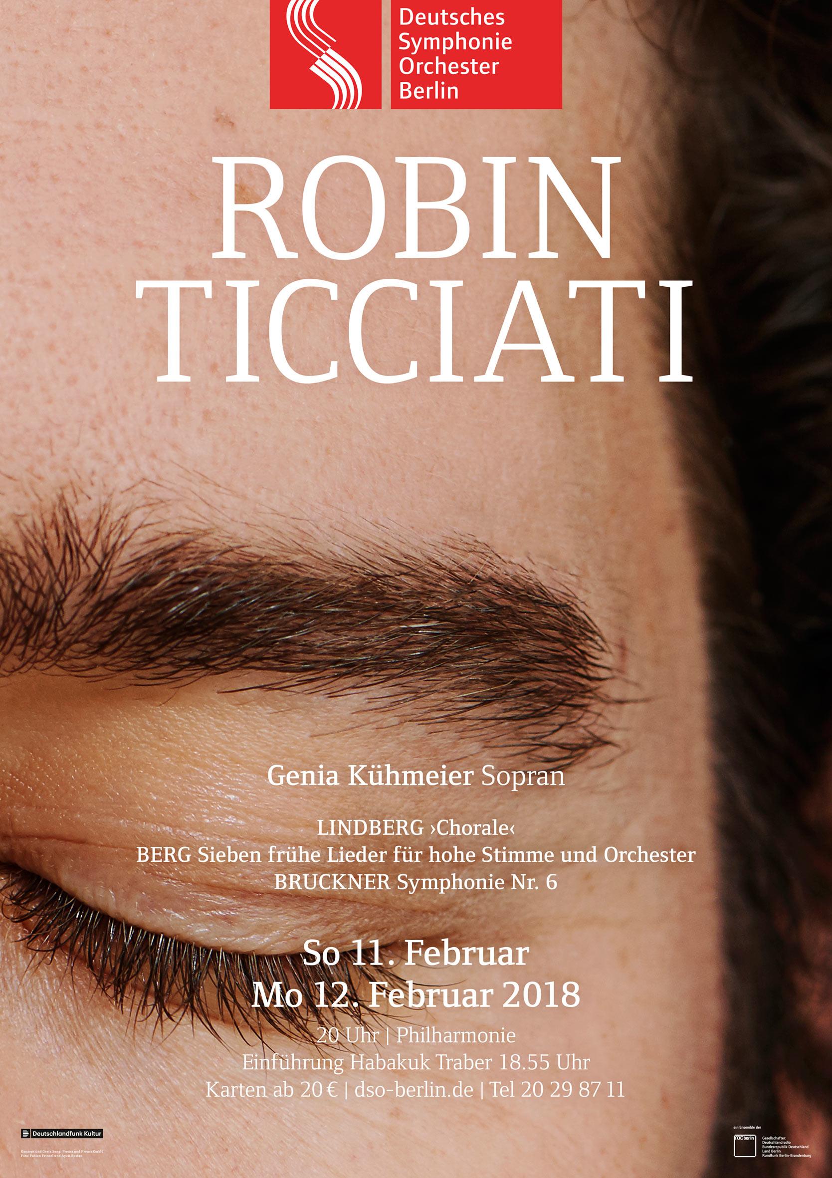 Plakat Robin Ticciati