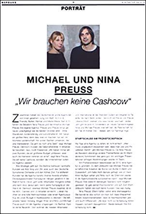 Preuss und Preuss - Artikel im Kontakter