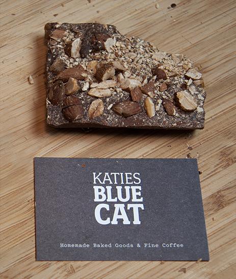 Visitenkarte Katies Blue Cat