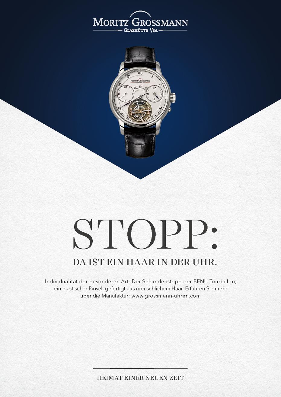 Stopp: da ist ein Haar in der Uhr - Motiv 2
