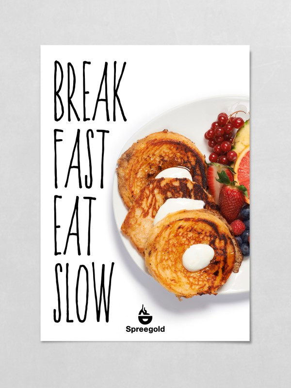 Spreegold Branding Plakate Breakfast