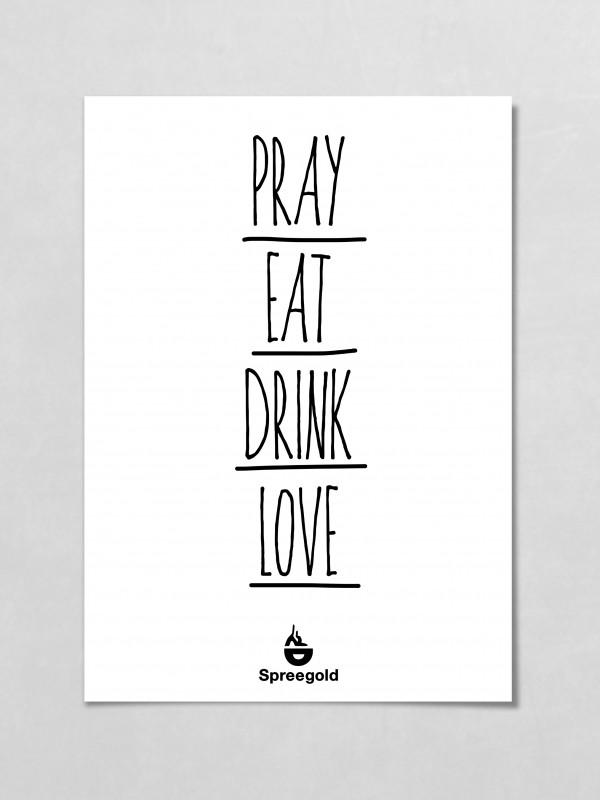 Spreegold Branding Plakate Love