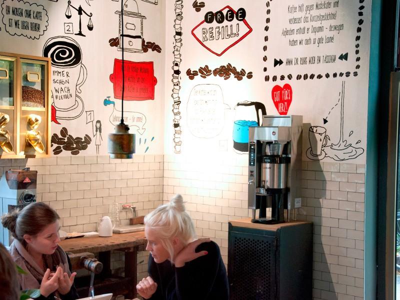 Spreegold Branding Sonstiges Kaffeeecke