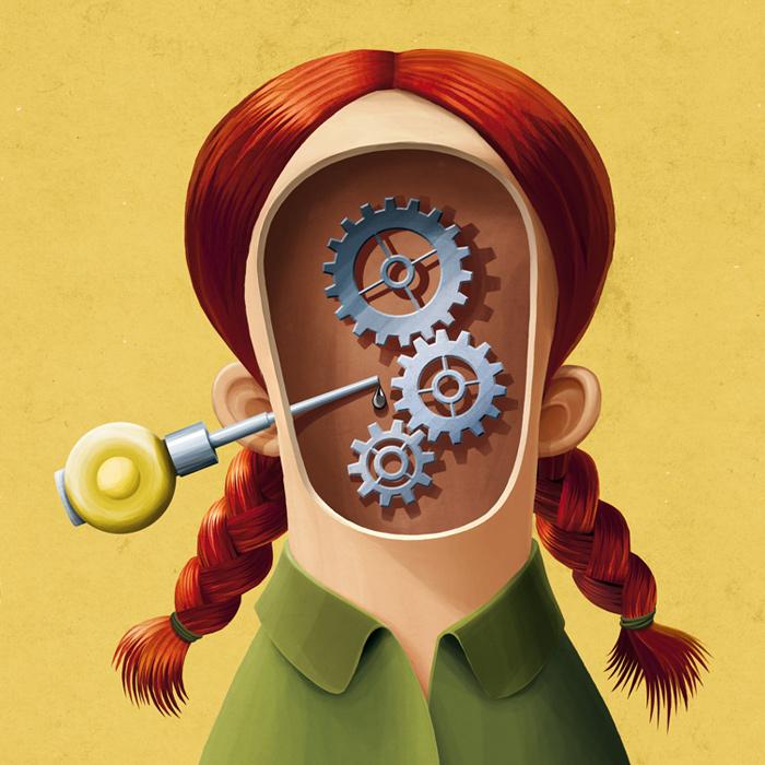 Illustration: Motor im Kopf - Radio Mephisto Beitragsbild
