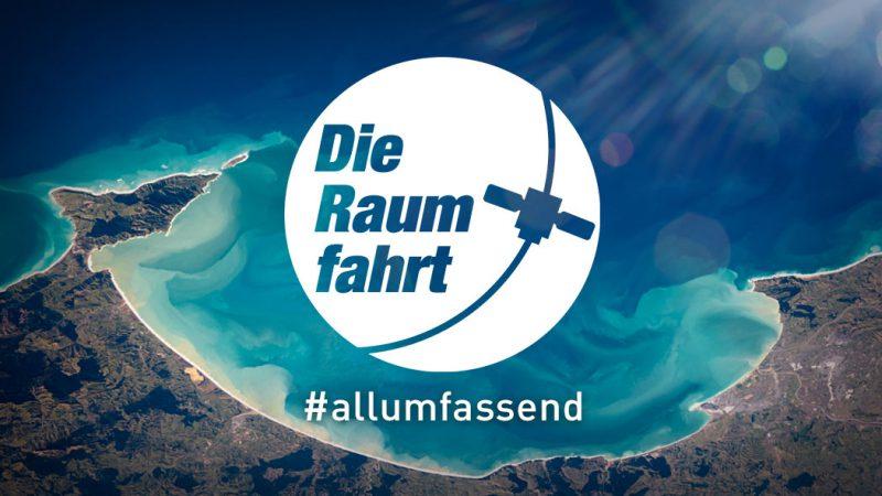 Die Raumfahrt #allumfassend - Insel Luftaufnahme