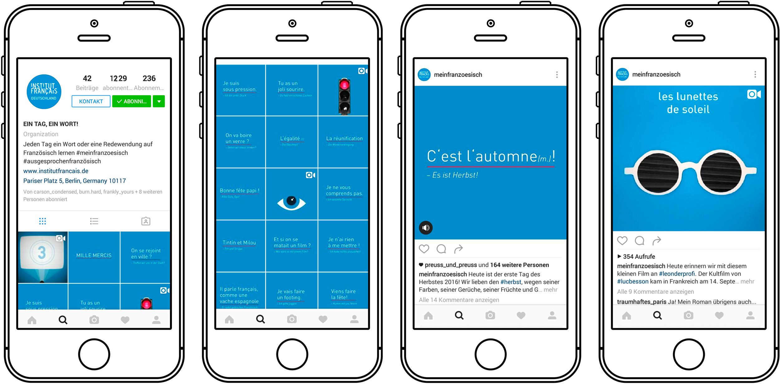 Institut-Francais - Instagram Mobile