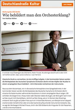 Artikel im Deutschlandradio Kultur