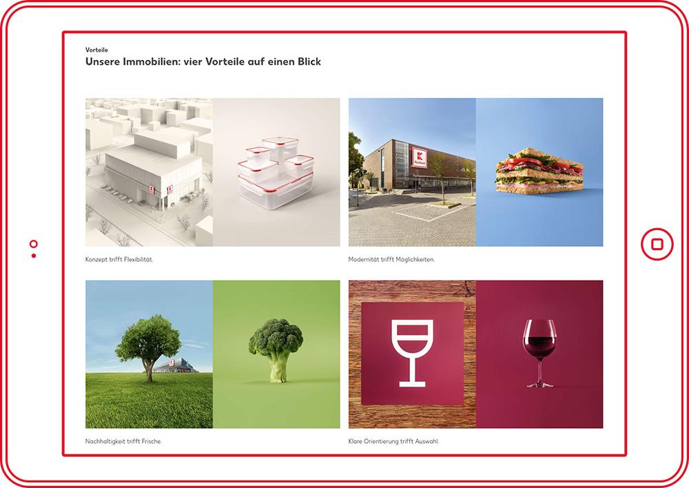Kaufland Immobilien - Website 1
