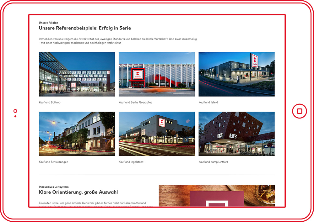 Kaufland Immobilien - Website 2