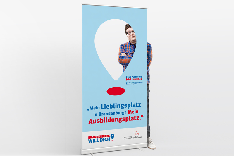 "Roll-Up ""Mein Lieblingsplatz in Brandenburg?"""