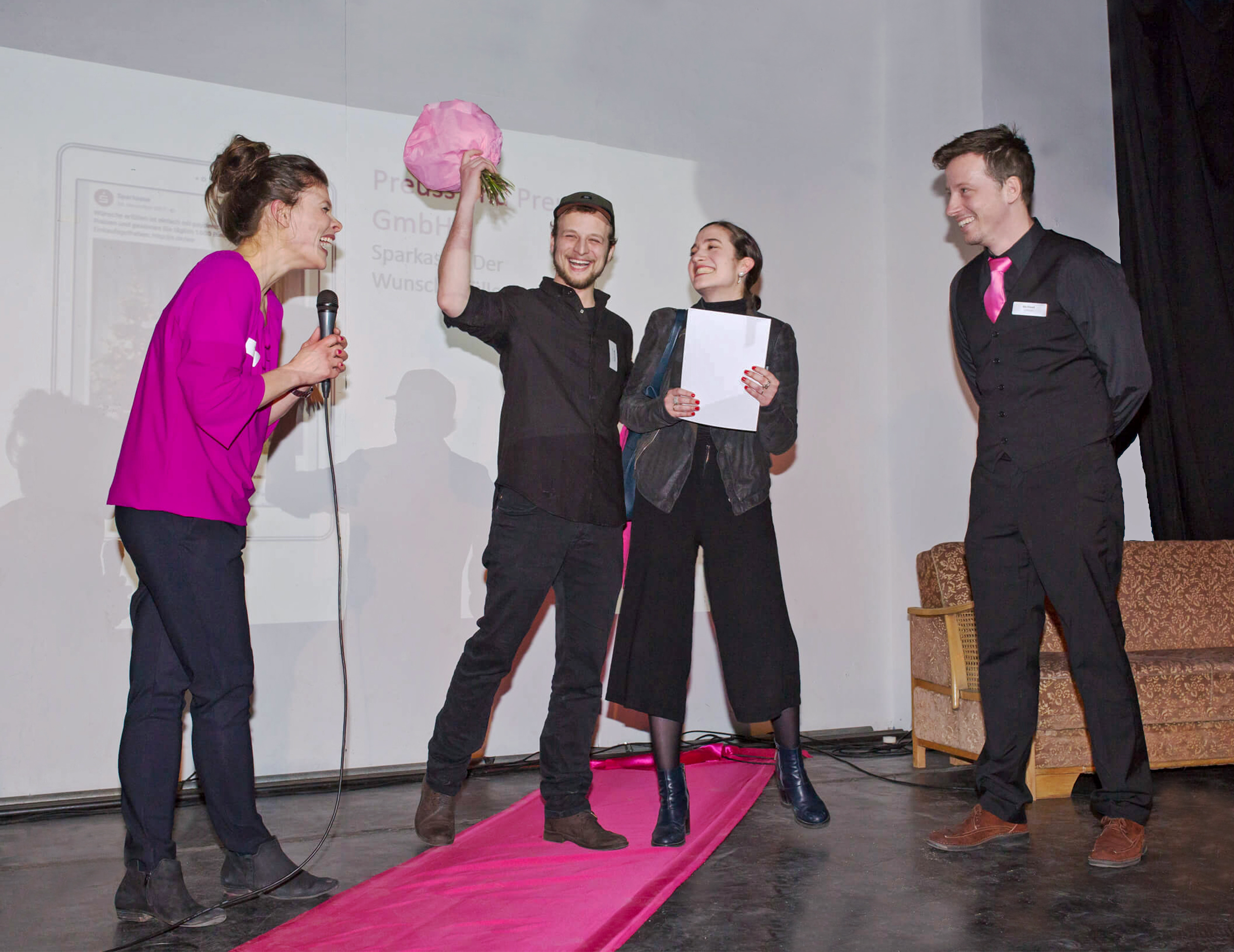 "Preuss und Preuss gewinnt ""Pinker Pudel"" Award."