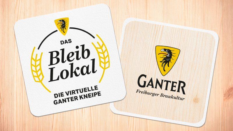 Bleib-Lokal Bierdeckel